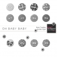 Oh Baby Baby Button Templates Kit