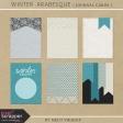 Winter Arabesque - Journal Cards