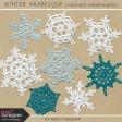 Winter Arabesque - Crochet Snowflakes