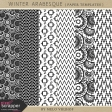 Winter Arabesque - Paper Templates