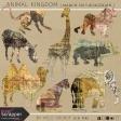 Animal Kingdom - Zoo Collage