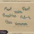 Summer Splash - Words Kit