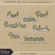 Summer Splash - Words Kit