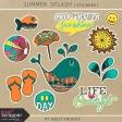 Summer Splash - Stickers