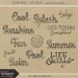 Summer Splash - Word Stamps