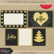 Christmas Day - Journal Cards