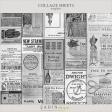 Vintage Collage Sheet Templates