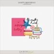 Happy Birthday Embellishments