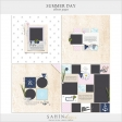 Summer Day Album Pages - PNG