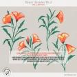 Flower Sketches No.2