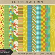 Colorful Autumn Pattern Papers