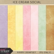 Ice Cream Social Marbled Papers