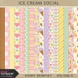 Ice Cream Social Pattern Papers