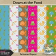 Down at the Pond Patterned Papers