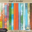 Bright & Beautiful-artsy & painted papers
