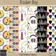 Rocker Boy Patterned Papers