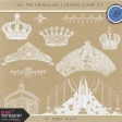 All the Princesses - Crown Stamp Kit