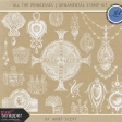 All the Princesses - Ornamental Stamp Kit