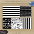 Toolbox Journal Cards - Template Kit 1