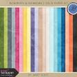 Raindrops & Rainbows - Solid Paper Kit