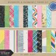 Raindrops & Rainbows - Paper Kit