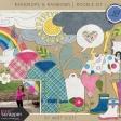 Raindrops & Rainbows - Doodle Kit 1