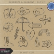 Raindrops & Rainbows - Clip Kit
