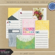 Raindrops & Rainbows - Journal Card Kit