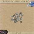 Toolbox Washi Tape 004 - Silver Tape Kit