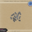 Toolbox Washi Tape 004 - Template Kit