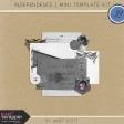 Independence - Mini Template Kit