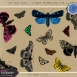 At The Zoo - Stamp Template Kit 4