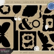 Day of Thanks - Shape Mask Template Kit