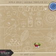 Apple Crisp - Doodle Template Kit 1
