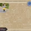 Apple Crisp - Doodle Template Kit 2