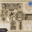 All the Princesses - Stamp Template Kit 9
