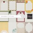 Grandma's Kitchen - Journal Card Kit 2