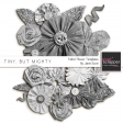Tiny, But Mighty - Fabric Flower Templates Kit