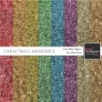 Christmas Memories - Glitter Papers