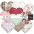 Be Mine - Puffy Stitched Heart Kit