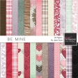 Be Mine - Paper Kit