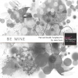 Be Mine - Paint and Doodle Template Kit