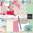 Hello - May 2014 Blog Train Mini Kit