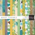 Many Thanks - Paper Kit