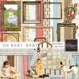 Oh Baby, Baby - Bedroom Papers and Elements Kit