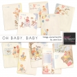 Oh Baby, Baby - Vintage Journal Cards