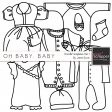 Oh Baby, Baby - Doodle Templates Set 1
