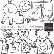 Oh Baby, Baby - Doodle Templates Set 4