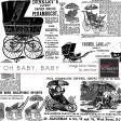 Oh Baby, Baby - Vintage Advertisement Stamps