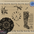 The Nutcracker - Stamp Template Kit
